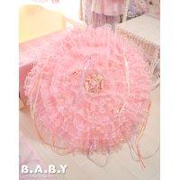 Romantic Princess Ruffle Lace Umbrella
